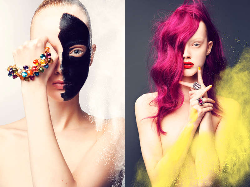 Transformative Makeup Editorials