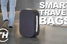 Effort-Saving Suitcases - These Smart Travel Bags are Perfect for Non-Punctual Travellers