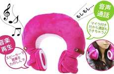 Music-Playing Neck Pillows
