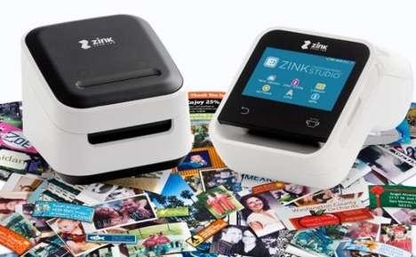 Miniature Smartphone Printers - ZINK Smart App Printers Are Portable and Print Directly from Apps