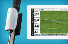 Swing-Improving Golfclub Attachments - Analyze Everything About Your Game with the Swingbyte
