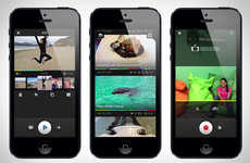 Interactive Social Video Apps - The MixBit App Can Record, Share and Mix Videos for Sharing Online