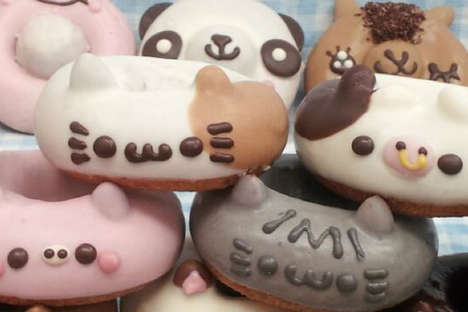 Adorable Animal Donuts - The Animal Donuts by Floresta Make for a Creative Confection