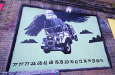 Geeky Code-Revealing Graffiti