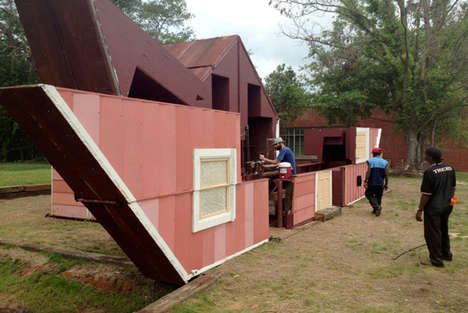 Dollhouse-Like Theaters - Open House by Matthew Mozzotta Unfolds into a Public Space