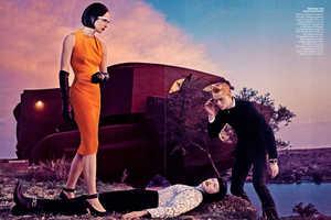 Steven Klein's Vogue US 'The Final Frontier' Series Loo