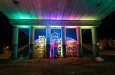 Abandoned Bridge Party Zones - The Pod Mostom Hangout Space is a Thriving Urban Regeneration Project
