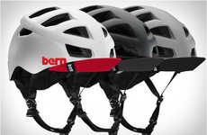 Aerodynamically Vented Helmets - The Bern Allston Helmet is Specifically Designed to Keep Heads Cool