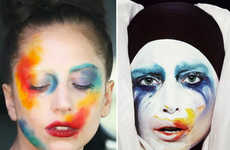 Album Art-Mimicking Makeup - This Lady Gaga Makeup Look Takes the 'ARTPOP' Cover to the