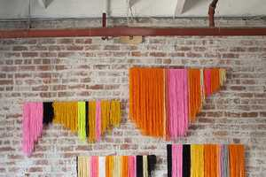 Turn Colorful Pieces of Yarn into Stylish Wall Art with This Tutorial