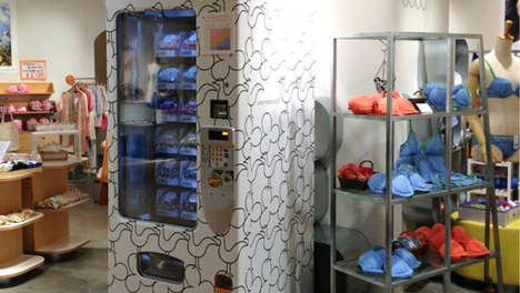 In-Store Lingerie Dispensers - This Bra Vending Machine Allows Customers to Shop Without Salespeople