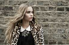 School Girl Grunge Fashion - The Zara TRF Fall Ad Campaign is Edgy and Youthful