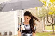 Brass Knuckle-Inspired Umbrellas