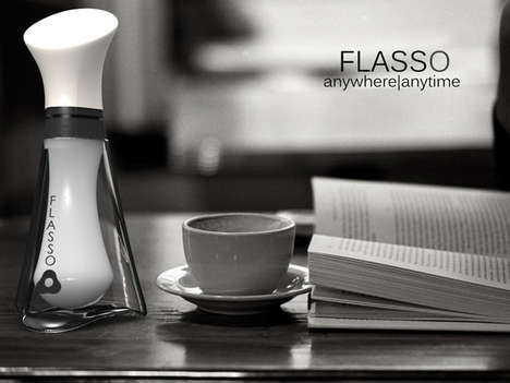 Contemporary Milk Bottles - The Flasso by Subinay Malhotra is Made with India in Mind