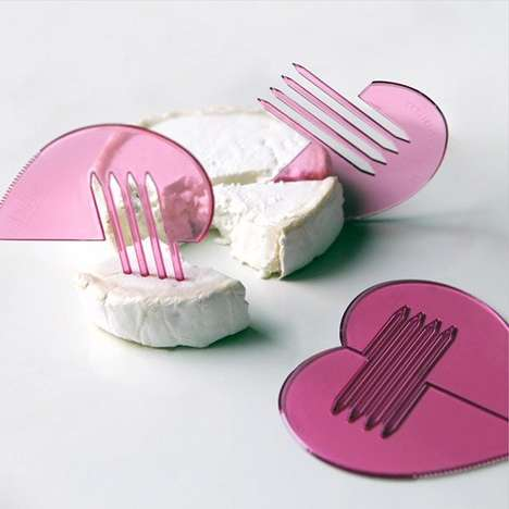 Heart-Shaped Sporks - This Multifunctional Cutlery Design Brings Out the Heart in Mundane Activities