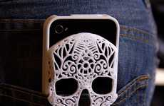 Skeletal Smartphone Covers - This Skull Phone Case Features an Intricate Design