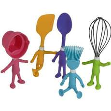 86 Playful Kitchen Utensils - From Kitchen Utensil Dolls to Connectable LEGO Cutlery