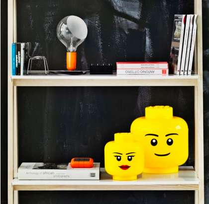 LEGO Head Storage Characters - The LEGO Storage Heads Add a Fun Element to Cleaning Up