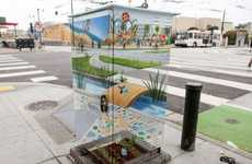 Transparent Utility Boxes