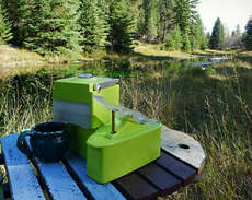 58 Examples of Eco Camping Equipment - From Upcycled Bonfire Pits to One-Man Garbage Bin Tents