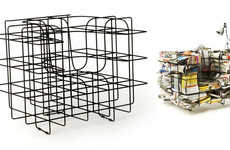 56 Wacky Wireframe Furnishings