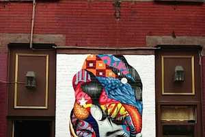 The Lisa Project Mural by Tristan Eaton Celebrates Comic Books