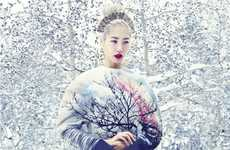 Stunning Snow-Filled Editorials
