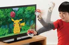 Interactive Pokemon Game Controllers