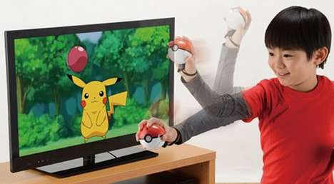 Interactive Pokemon Game Controllers - Catch Favorite Characters with the Pokemon Monster Ball