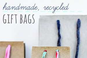 Turn Cardboard Boxes into Creative Gift Totes with This Guide