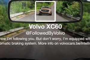 This Twitter Campaign Cleverly Promotes the Volvo XC60's Brakes