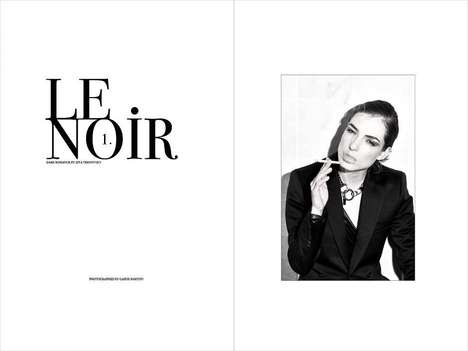 Artistically Sensual Photography - Le Noir by Gabor Marton Celebrates the Female Form