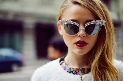 Luxurious Crystal Sunglasses