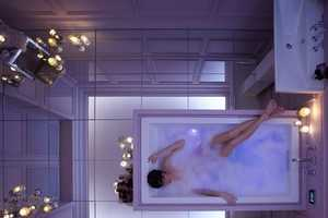 The 'VibrAcoustic' Bath from Fancy Uses Sound Waves to Calm Your Nerves