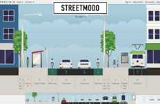 Streetscape-Modeling Sites