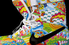 64 Striking Psychedelic Shoes