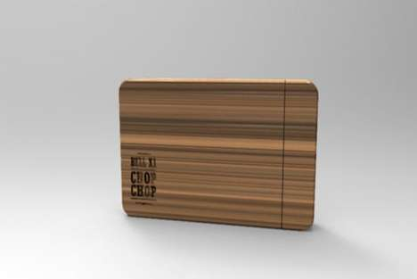 Album Cover Chopping Boards - The 'Chop Chop' Album by Bell X1 Doubles as a Wooden Cutting Board