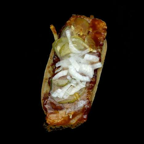 Honest Fast Food Photos - The Jon Feinstein Fast Food Series Uncovers the Truth Under the Bun