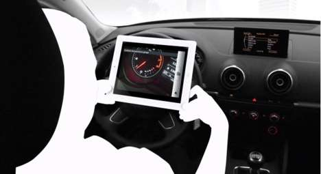 Smartphone Driver Manuals - The A3 eKurzinfo App Shows Parts and Features Using Your Phone's Camera