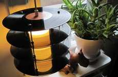 From Vinyl Record Lighting to Vintage Suitcase Speakers