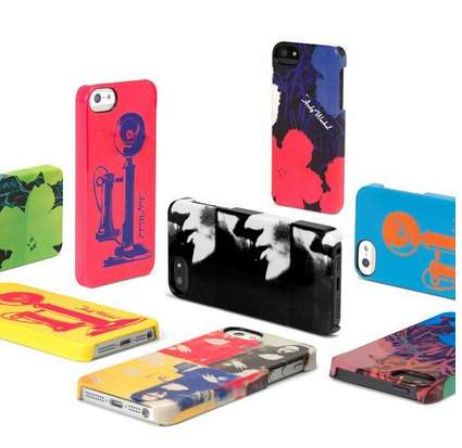 Pop Artist-Inspired Cases - These Pop Art Cases for the iPhone 5 Pay Tribute to Andy Warhol