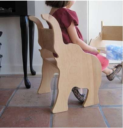Animal-Inspired Children's Chairs - The Elephant Chair from Paloma's Nest is Wonderfully Imaginative