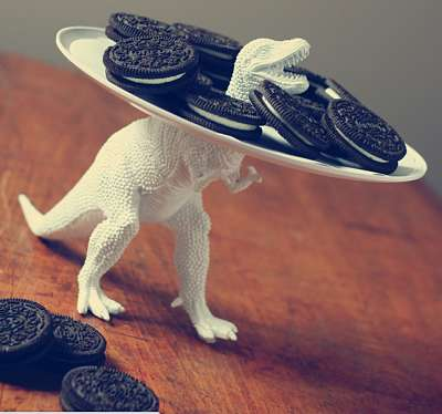 DIY Jurassic Food Platters - This DIY Food Platter Upcycles an Old Dinosaur Toy