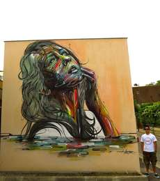 100 Street Art Pieces - From Vivid Anatomical Graffiti to Astounding Adhesive Murals