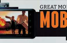 Mobile Milestone Infographics - Reminisce About the Greatest Moments in Mobile Video History