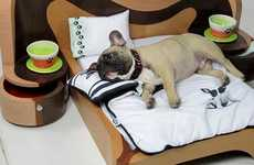 Deluxe Dog-Sized Beds - These Dog Beds by Cedel Are Like Bedroom Sets for Canines