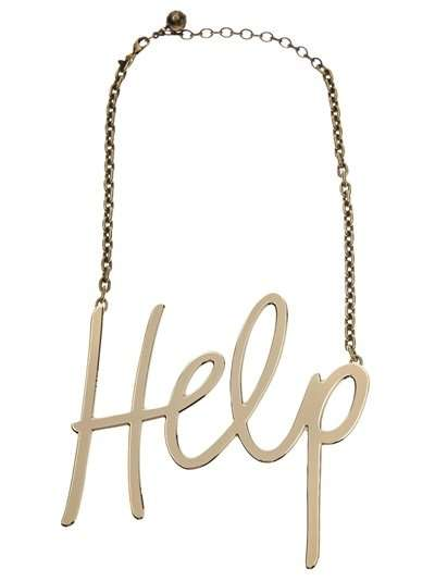 Help Necklace