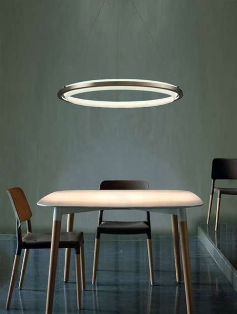 Suspended Halo Lights - The