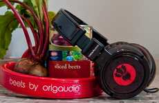 Veggie-Styled Music Blasters - The Beets by OrigAudio Play Deliciously Nutritious Sound