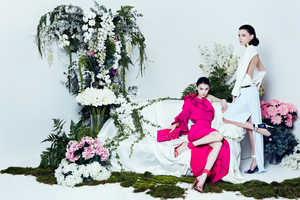 The Prestige Magazine 'The Nymphs' Photoshoot is Inspired by Nature